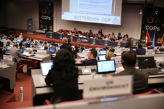 At its thirteenth meeting, the Conference of the Parties to the Basel Convention elected a new Bureau and members of subsidiary bodies under the Convention.