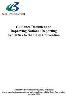Guidance Document on Improving National Reporting
