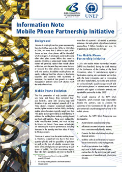 Information note Mobile Phone Partnership Initiative