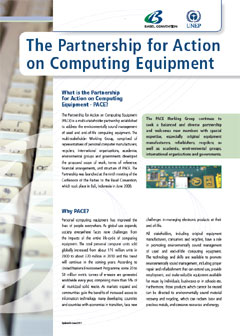 The Partnership for Action on Computing Equipment