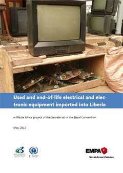 Used and end-of-life electrical and electronic equipment imported into Liberia