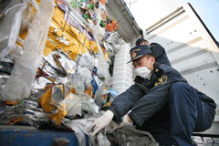 Tons of illegal waste seized under Operation Demeter III